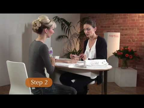 manicure - How To Apply A Salon Perfect Manicure at Home. Subscribe! http://www.youtube.com/subscription_center?add_user=videojug Check Out Our Channel Page: http://www...