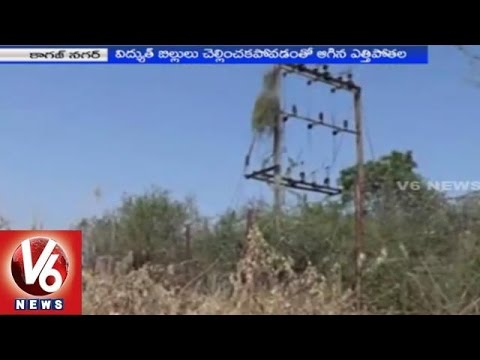 Andevelly people urge Telangana Government to complete the pending project 01032015