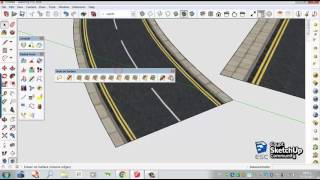 Video Curved road texture | SketchUp MP3, 3GP, MP4, WEBM, AVI, FLV Desember 2017