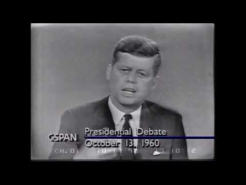 John F. Kennedy vs Richard Nixon - Third Presidential Debate 1960