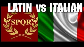 In this video we will study some of the differences between Italian and Latin and I'll try to give you a new perspective on the matter in question. Also at the end of ...