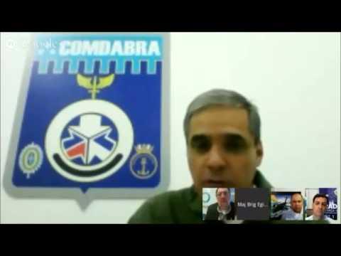 04.06.12 - Hangout Defesanet com O Globo, COPAC, COMDABRA sobre o KC 390.