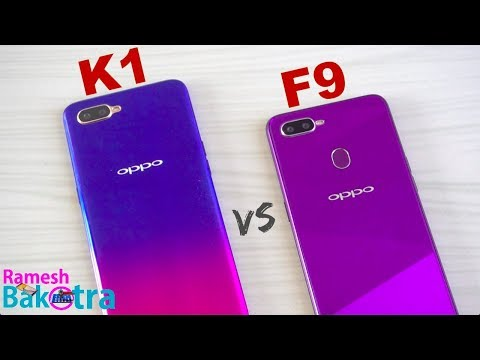 Oppo K1 vs Oppo F9 SpeedTest and Camera Comparison - Thời lượng: 6 phút, 37 giây.