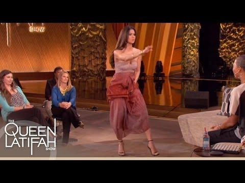 "Roselyn Sanchez Plays ""Dance It Out"" on The Queen Latifah Show"