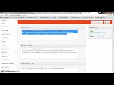 bulk sms development tutorial