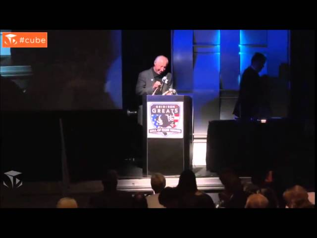 Fred Biletnikoff – Gridiron Greats Hall of Fame Dinner