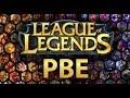 League of Legends PBE HESAP AÇMA VE İSTEMCİ YÜKLEME