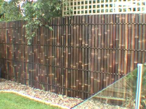 Diy bamboo panel fence installation guide ebay for Fence installation tips
