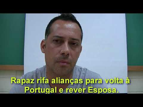 Fernandópolis - Rapaz de Fernandópolis tenta rifar o único bem que tem, as alianças para voltar à Portugal e reencontrar a Esposa.