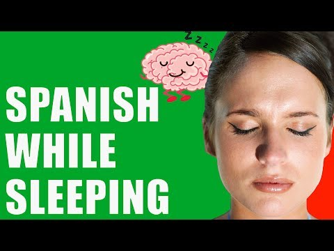 Learn Spanish WHILE SLEEPING: Beginner Lessons