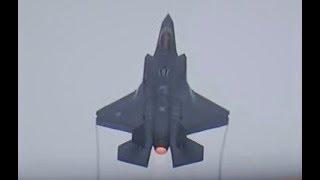 2 RNLAF F-35s AWESOME FULL AFTERBURNER TAKE OFF @ Luchtmachtdagen 2016