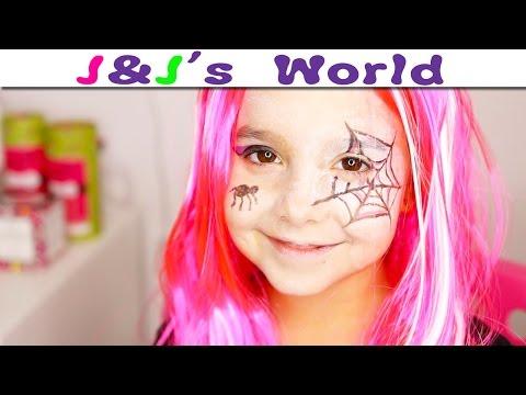 HALLOWEEN : Maquillage de petite Sorcière pour Halloween (facile et rapide)