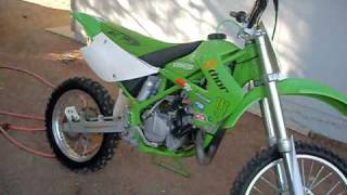 10. 1998 kawasaki kx100 FOR SALE $1000 OBO!