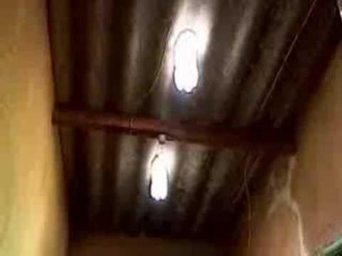 0 Iluminação: garrafas pet no telhado
