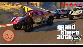 GTA 5 : New Stunt Dlc W/ Friends - Customization And Racing - Hosted by Pittbull YT by theTIVANshow