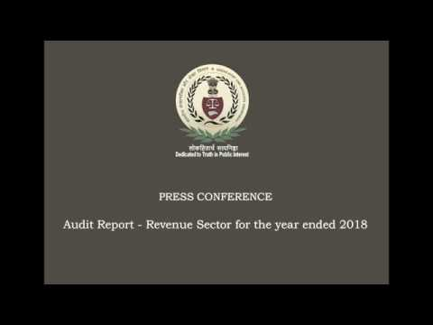 AG's press briefing- Revenue Sector Report in 2020