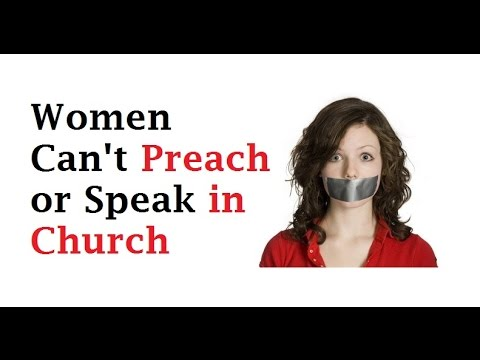 religion prohibit women be serve as preachers and what role do women play in these congregations As far as we can tell, the ancient gnostic organisations had women in all the same religious roles as men teachers, preachers you name it god is seen as both male and female in gnostic thought, thus men are not placed above women.