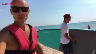 Крым Оленевка песочный пляж