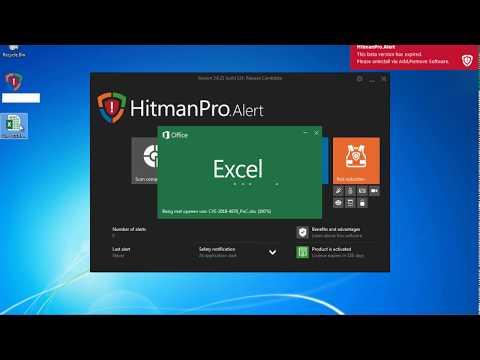 Very old HitmanPro.Alert (2014) vs future CVE-2018-4878 Flash 0day PoC