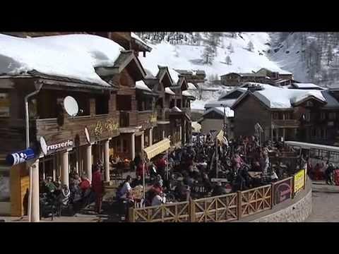 Val d'Allos, station de ski des alpes