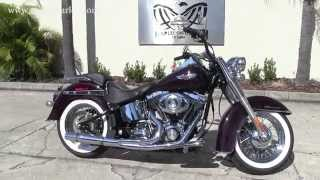 6. Used 2007 Harley Davidson Softail Deluxe for sale in Florida