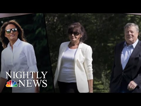 First Lady Melania Trump's Parents Sworn In As U.S. Citizens | NBC Nightly News