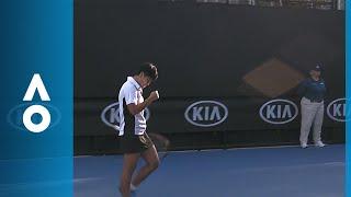 Luksika Kumkhum v Johanna Larsson match highlights (1R) | Australian Open 2018