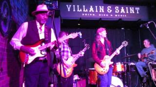 'Red House' Blues - Mike Westcott Band & James Mabry at Villain & Saint