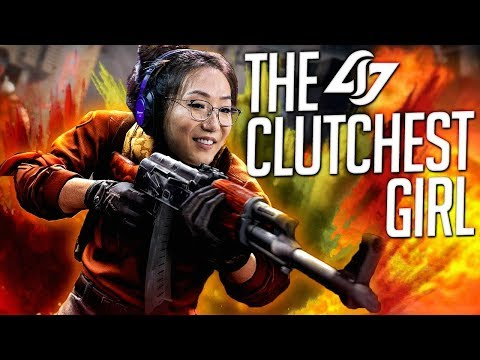 THE CLUTCHEST GIRL CSGO PLAYER (Twitch Rivals)