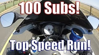 1. 2007 Suzuki GSX-R Top Speed Run!