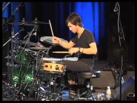 Brendan Buckley drum seminar at Musicians Institute 2009 (6/8 groove)