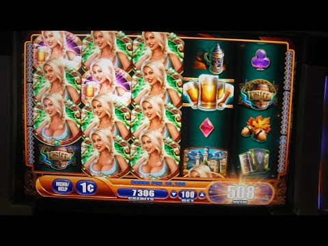 Bier Haus 35 FREE SPINS BIG WIN Slot Machine Bonus Round Free Games