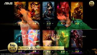 (HD 157) Kings of Europe Semi-Final - M5 vs Sypher - League Of Legends Replay [FR]