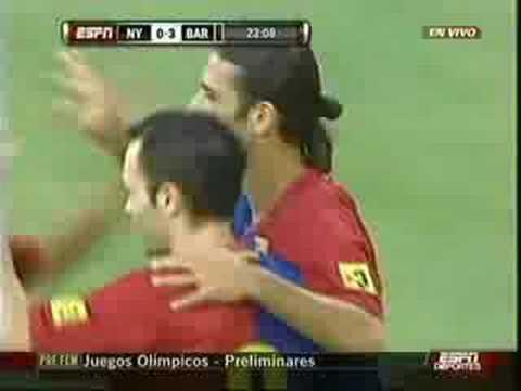 Gol de Márquez ante el Redbull 2008