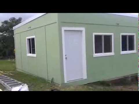 Steel Cube Home- Affordable Home