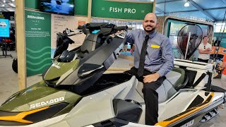 3. Sea Doo Fish Pro Overview Miami Boat Show 2019