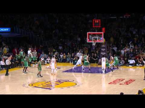 Video: Avery Bradley Beats the Buzzer to Force OT in L.A.
