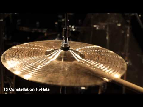 Supernatural Cymbals 13 Constellation Hi-Hats