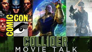 "On this episode of Collider Movie Talk (Friday, July 24th, 2017) Mark Ellis, Jeremy Jahns, Kristian Harloff, Mark Reilly, Ashley Mova and Wendy Lee discuss the following: -DC comic-con recap: Ben Affleck insists he's still Batman; Aquaman footage shown; Flashpoint movie announced-Marvel comic-con recap: Infinity War trailer, Captain Marvel will battle Skrulls in 90's; Black Panther footage; Ant-Man and the Wasp casts Michelle Pfeiffer, Laurence Fishburne -Box Office Report-New comic-con trailer released for Justice League-New trailer released for Thor Ragnarok-Mail Bag-Live Twitter QuestionsDC Films kicked off Saturday's Comic Con Hall H panel with a huge presentation for their upcoming slate of films and in doing so, announced that the long delayed Flash movie will be retooled and retitled as Flashpoint. Other panel highlights included a first look at Aquaman footage, a new poster and extended trailer for Justice League and, most talked about, Ben Affleck seemingly denying a previous THR report that stated the actor, along with DC Films, were looking for a way for him to ""gracefully"" exit as the Batman. Marvel brought the house down on Saturday evening, closing out Hall H with a huge presentation that had fans in attendance on their feet. It started with Paul Rudd and Michael Pena offering a look back at the MCU, which then revealed Michelle Pfeiffer joining Ant-Man and the Wasp as long-lost Janet van Dyne, along with Laurence Fishburne as Dr. Bill Foster, best known as another size-changer, Goliath. The panel also included a special look at Black Panther (that was followed by a standing ovation), a scene and new trailer for Thor Ragnarok as well as a huge announcement that Captain Marvel will be a prequel set in the 90's, featuring the Skrulls as the main villain. But probably the biggest reveal came in the form of an Infinity War poster and trailer that blew fans away. It's Monday and it's time for the weekend box office report.BUY OR SELLWarner Bros. released a new extended Justice League trailer during their panel at San Diego Comic Con 2017. The upcoming film features Batman and Wonder Woman working to bring together Flash, Cyborg, and Aquaman to stop a new threat led by the villainous Steppenwolf. The four-minute trailer comes almost exactly a year after the first look at the film debuted, which was released at last year's Comic-Con. The film is currently undergoing reshoots led by newly installed director Joss Whedon, and is set for release on November 17th. Marvel Studios has released a new trailer for Thor: Ragnarok at this past weekend's comic con. From the studio's official one-liner, ""In Marvel Studios' Thor: Ragnarok, Asgard is threatened but Thor is imprisoned on the other side of the universe without his hammer and to escape and save his home world he must fight his former ally and fellow Avenger—the Incredible Hulk."" Ragnarok comes from What We Do in the Shadows director Taika Waititi, who catches fans up on what the God of Thunder has been up to since he sat out Civil War. The film is set for release on November 3rd. MAIL BAGLIVE TWITTER QUESTIONSCheck out the YouTube Playlist for Awesometacular: https://www.youtube.com/playlist?list=PLayt6616lBckuUHPMdwFINi_vcyc-ysnCFollow us on Twitter: http://www.twitter.com/ColliderVideoFollow us on Instagram: http://www.instagram.com/ColliderVideoFollow us on Facebook: https://www.facebook.com/colliderdotcomFollow Mark: https://twitter.com/MarkEllisLiveFollow Jeremy: https://twitter.com/JeremyJahnsFollow Reilly: https://twitter.com/ReillyaroundFollow Kristian: https://twitter.com/KristianHarloffFollow Ashley: https://twitter.com/AshleyMovaFollow Wendy: https://twitter.com/WendyLeeSzanyAs the online source for movies, television, breaking news, incisive content, and imminent trends, Collider Videos is more than an essential destination.Visit Collider: http://collider.comFollow them on Twitter: http://www.twitter.com/ColliderSUBSCRIBE TO THE SCHMOES YOUTUBE CHANNEL HERE: https://www.youtube.com/user/schmoesknowCollider Show Schedule:MONDAY: TV Talk  http://bit.ly/29BR7Yi TUESDAY: Heroes  http://bit.ly/29F4JobTeam Schmoedown  http://bit.ly/29C2iRV WEDNESDAY: Nightmares  http://bit.ly/29BQUV3 THURSDAY: Jedi Council  http://bit.ly/29v5wVi FRIDAY: Schmoedown  http://bit.ly/29C2iRV SATURDAY: Mailbag  http://bit.ly/29UsKsd Behind the Scenes/Bloopers  http://bit.ly/2kuLuyISUNDAY: Mailbag  http://bit.ly/29UsKsdMOVIE TALK: Every week day  http://bit.ly/29BRtOO"