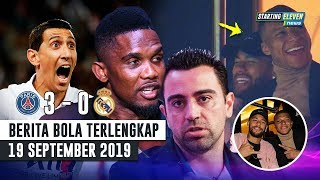 Video Penyebab Madrid DIBANTAI 😱 Eto'o Ancam Bunuh Xavi 🤔 Mbappe & Neymar Ketawain Madrid MP3, 3GP, MP4, WEBM, AVI, FLV September 2019