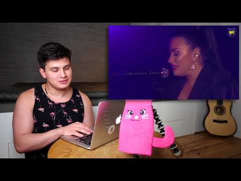 "Vocal Coach Reaction to Demi Lovato Singing ""Sober"" Live"