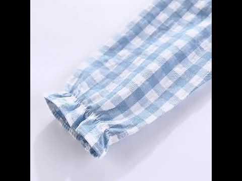 Mudkingdom/пижамы для маленьких девочек; милая хлопковая осенняя одежда с… видео
