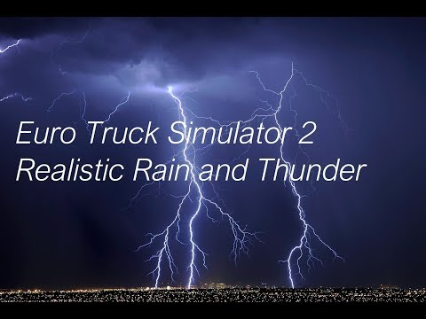 Realistic Rain and Thunder 1.30