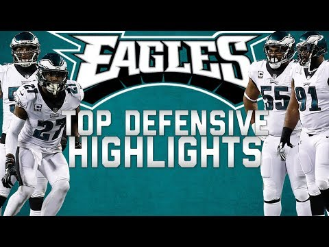 Video: Philadelphia Eagles Top Defensive Highlights from the 2017 Season