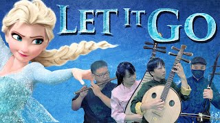 Video Let It Go(Frozen) in Chinese Style by 八荒印痕OctoEast (國樂版 - 中阮/琵琶/二胡/笛子/吉他) MP3, 3GP, MP4, WEBM, AVI, FLV Juni 2018