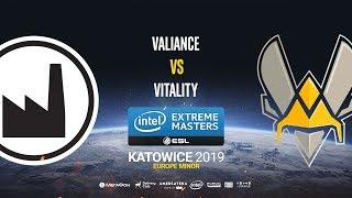 Valiance vs Vitality - IEM Katowice EU Minor - map3 - de_dust2 [Anishared & Gromjkeee]