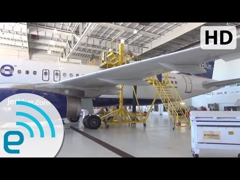 jetblue - JetBlue Fly-Fi: An Inside Look at the Airline's Satellite WiFi-Equipped Airbus A320. Read on at Engadget: http://www.engadget.com/2013/09/24/inside-jetblue-f...