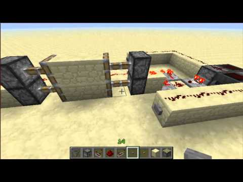 Minecraft: Hopper-Dropper T Flip Flopper (Compact And Pistonless)