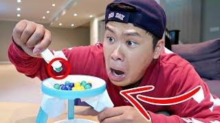 Video IMPOSSIBLE THIN ICE CHALLENGE!!!!!! (FIRST ONE TO DROP THE MARBLES LOSES) MP3, 3GP, MP4, WEBM, AVI, FLV Januari 2018