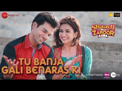 Video Tu Banja Gali Benaras Ki | Shaadi Mein Zaroor Aana | Rajkummar Rao & Kriti Kharbanda | Asit Tripathy download in MP3, 3GP, MP4, WEBM, AVI, FLV January 2017